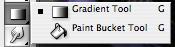 Gradient/Paint Bucket Tool