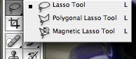 The Lasso Tool