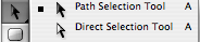 Path/Direct Selection Tool