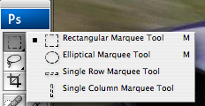 The Marquee Selection Tool